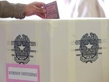 Relatief hoge opkomst bij cruciaal referendum Italië