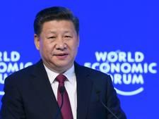 Xi Jingping springt in het vacuum van de afwezige Trump