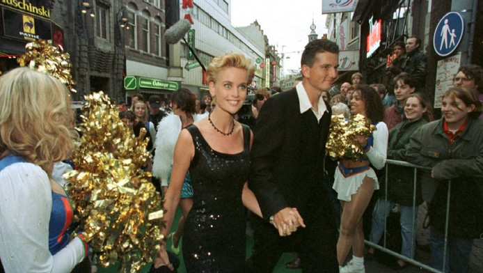 Daphne Deckers en Richard Krajicek in 1997.