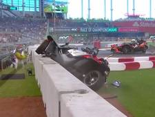VIDEO: Flinke crash Pascal Wehrlein bij Race of Champions