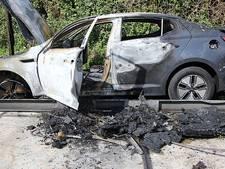 Vluchtauto liquidatie Wout Sabee uitgebrand gevonden