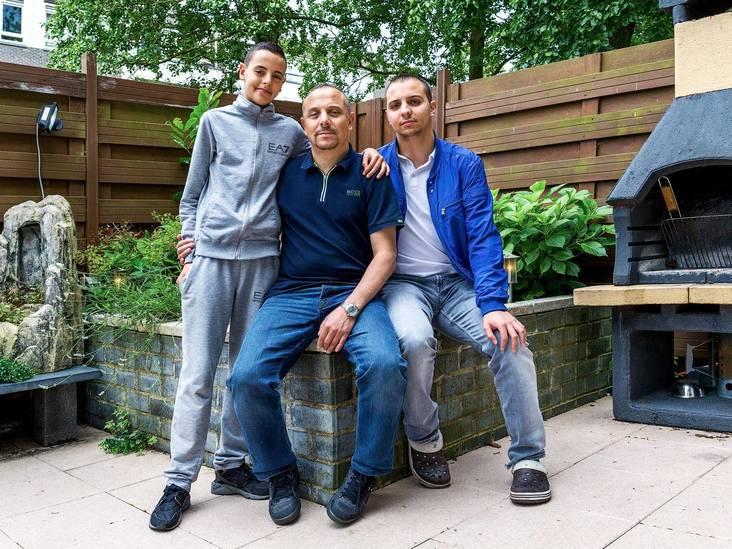 'Hoe ik mijn kinderen opvoed? Met streng zijn natuurlijk!'