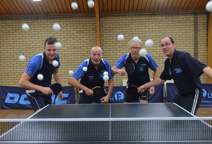 Team van van Gispen. Archieffoto