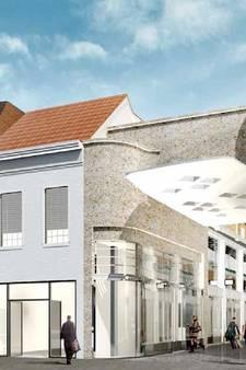 Poortgebouw Heuvelstraat Tilburg voorlopig gehalveerd