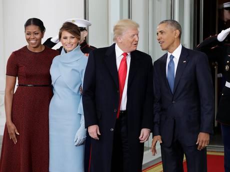 LIVE: Trump en aanhang arriveren bij het Capitool