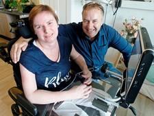 Rita van Wessel na revalidatie in VS terug naar Nederland