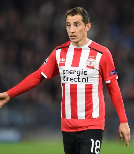 Herstellende Guardado weer terug bij PSV