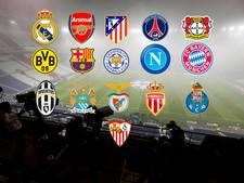Deze 16 clubs zien we terug in knock-outfase CL