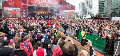 Fans massaal naar open dag Ajax