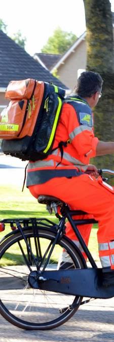 Geen plek voor helikopter: trauma-arts leent fiets