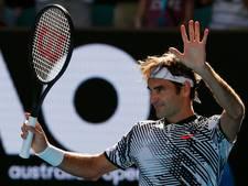Federer zonder setverlies naar derde ronde