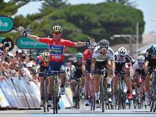 Caleb Ewan klopt Peter Sagan in Tour Down Under