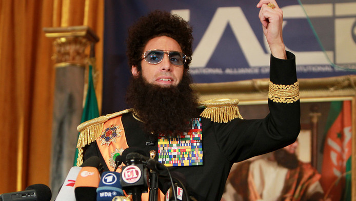Sacha Baron Cohen als 'The Dictator'