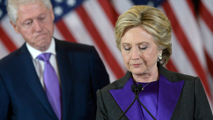 'Het is klaar met de Clinton-dynastie'