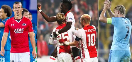 De samenvattingen van Ajax, Feyenoord en AZ