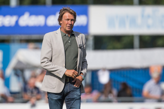 FC Lienden-trainer Hans Kraay jr was tevreden met het gelijkspel. Archieffoto
