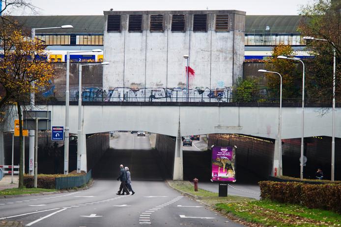 De Tunnelweg in Nijmegen.