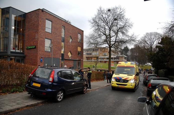 Een scholier raakte gewond bij een aanrijding in Arnhem.