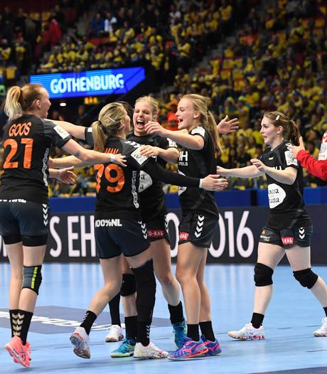 VIDEO: Handbalsters verslaan thuisland Zweden in zinderend duel