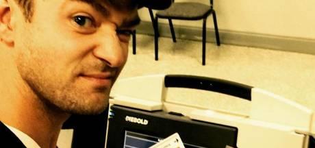 'Justin Timberlake mogelijk cel in om stemselfie'