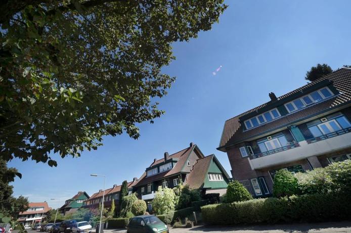 Huizen van de Woningbouwvereniging voor Ambtenaren te Arnhem.