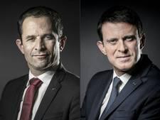 Hamon en Valls leiden Franse kandidatenrace