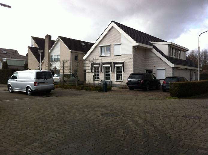 De beschoten woning aan de Hegdambroek in Nijmegen