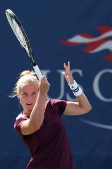 Hogenkamp stunt bij debuut op US Open