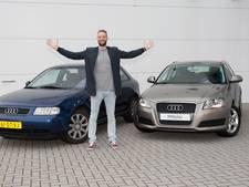 Zwollenaar Mak ruilt 'stomme Audi' in voor gloednieuwe bolide
