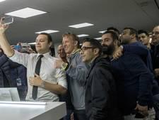 Turkse journalisten willen allemaal een selfie met Kuyt