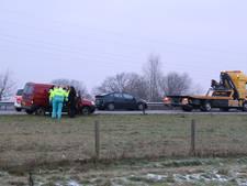 File op A73 door ongeval bij Beers