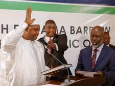 Ex-president Gambia lijkt vertrek te overwegen