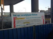 Fietsen bij de Noordertunnel worden verwijderd