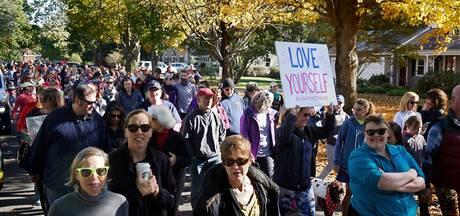 Amerikaanse vrouwen woest om yogabroek-rel