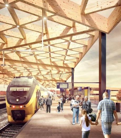 Nieuw station Ede wordt geen tochtige hal dankzij omgeving