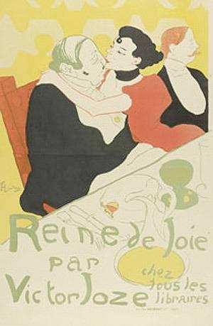 Prent van Henri de Toulouse-Lautrec