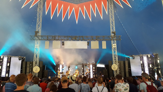 De band Oscar opent om 14:00 uur op Fuzzy Lop het festival.
