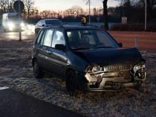 Bestuurder gewond bij botsing in Winterswijk