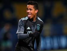 Kluivert voor het eerst bij selectie Ajax