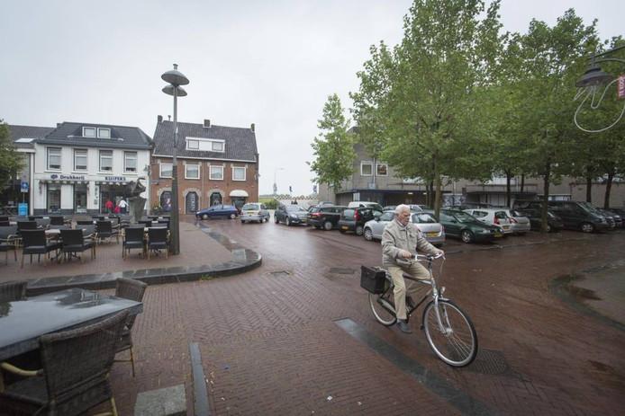 De Markt in Huissen.