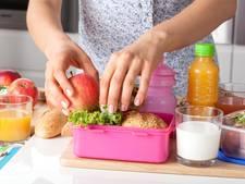 'Broodtrommeltje vooral vullen met groente en fruit'