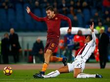 Strootman boekt met AS Roma benauwde overwinning