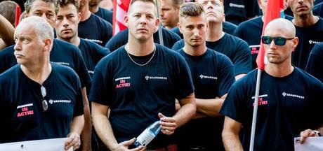 Brandweerlieden naar de burgemeester om pensioenregeling