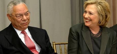 Clinton krijgt steun van Republikeinse ex-minister Powell