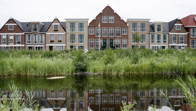 Huurwoningen in de Amersfoortse wijk Vathorst. © ANP