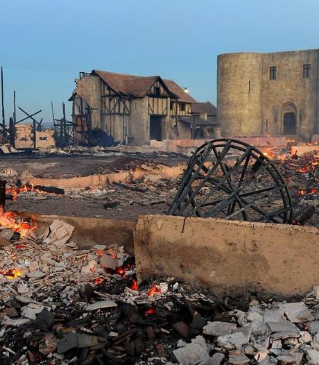 Brand verwoest historische Tsjechische filmstad