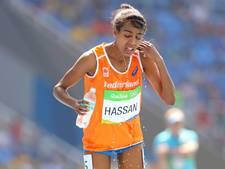 Hassan met toptijd derde op 1500 meter in Parijs