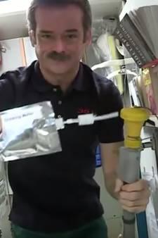 Bemanning ISS moet meer 'urine' drinken