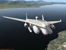 Hybride vliegtuig Clip-Air wordt na landing een trein