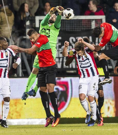 NEC begint tweede seizoenshelft met zege in Tilburg